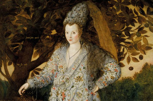 Portrait of an Unknown Woman (c. 1590–1600), Marcus Gheeraerts the Younger. Photo: Royal Collection Trust/© HM Queen Elizabeth II 2021