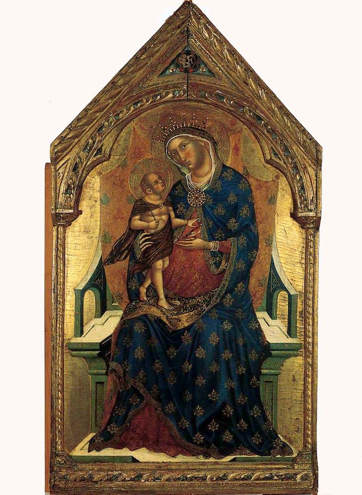 Virgin and Child (c. 1345), Paolo Veneziano.