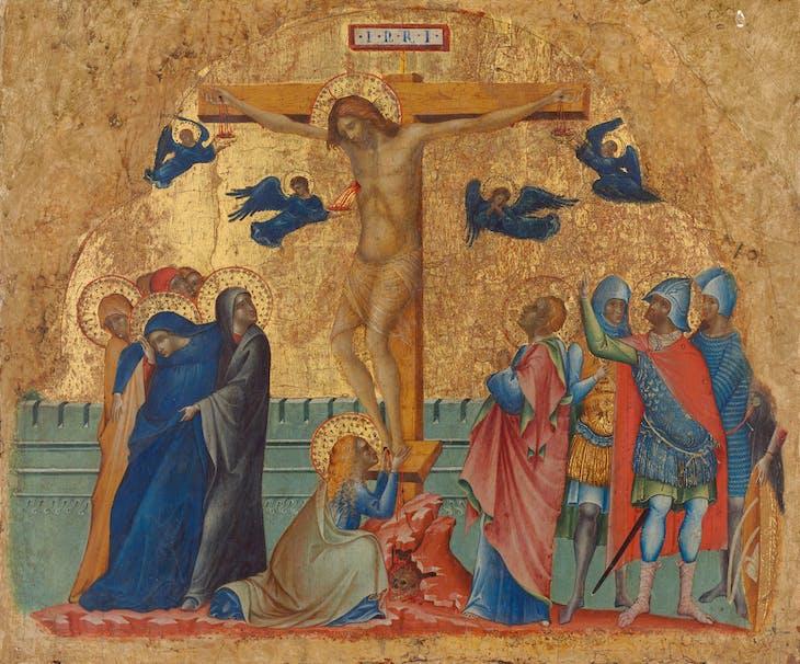 The Crucifixion (c. 1340), Paolo Veneziano.
