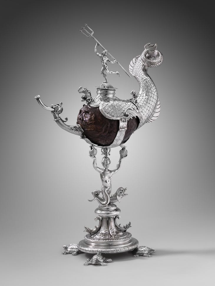 Covered coconut cup (1607), Frederiks Andries. Photo: © MFA Boston