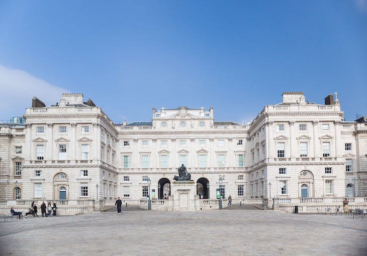 The Courtauld at Somerset House. Photo: Benedict Johnson