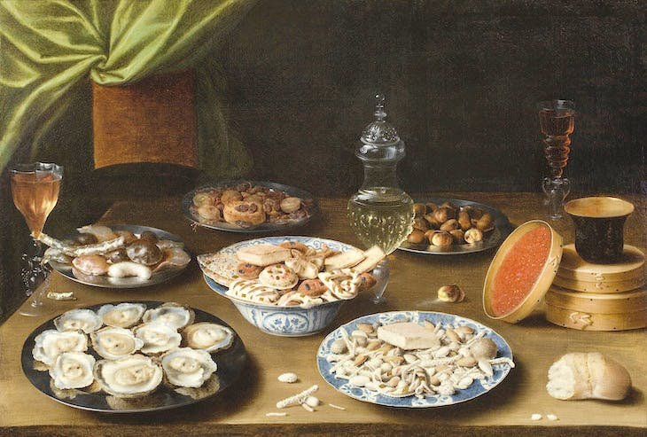 Still Life with Various Vessels on a Table (c. 1610), Osias Beert.
