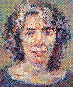 Elizabeth (1989), Chuck Close.