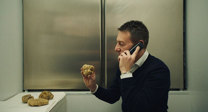Still from The Truffle Hunters (2020; dir. Michael Dweck and Gregory Kershaw).