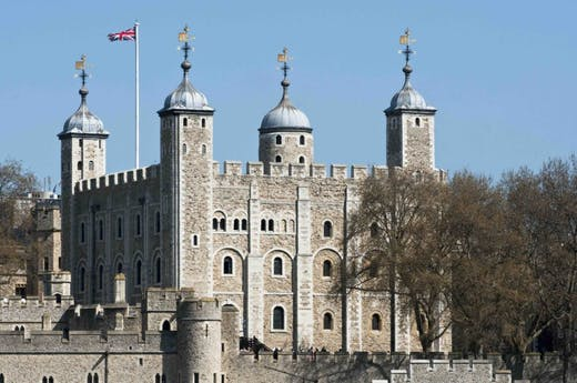 The Tower of London: a storeroom with a sense of history.