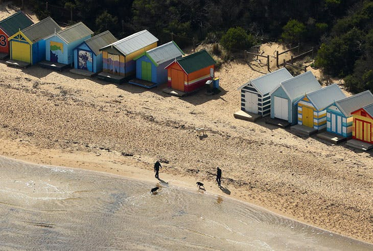 Brighton Beach, Melbourne (photographed in 2020).