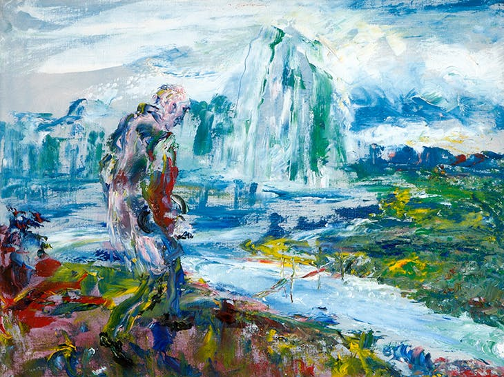 On Through the Silent Lands (1951), Jack B. Yeats.
