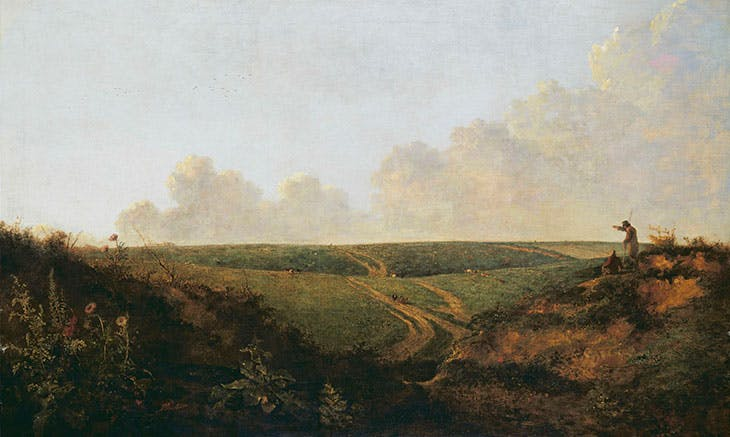 Mousehold Heath, Norwich (c. 1818–20), John Crome. Tate Collection