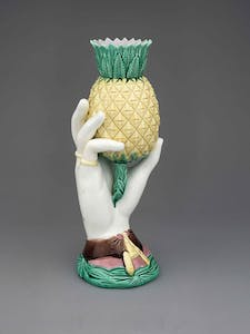 Vase designed in 1868 and manufactured by Wardle & Co. Collection of Sheldon M. Rice, New York.