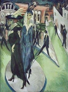 Potsdamer Platz (1914), Ernst Ludwig Kirchner.