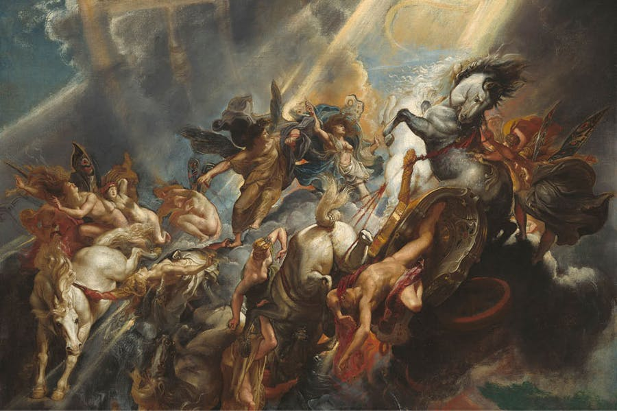The Fall of Phaeton Peter Paul Rubens. National Gallery of Art, Washington, D.C.