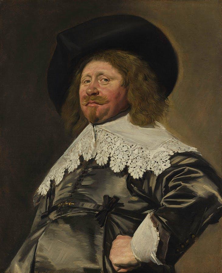 Portrait of a Man, Possibly Nicolaes Pietersz Duyst van Voorhout (c. 1636–38), Frans Hals.
