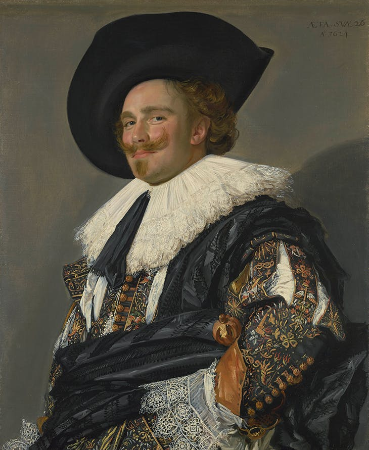 The Laughing Cavalier (1623), Frans Hals.
