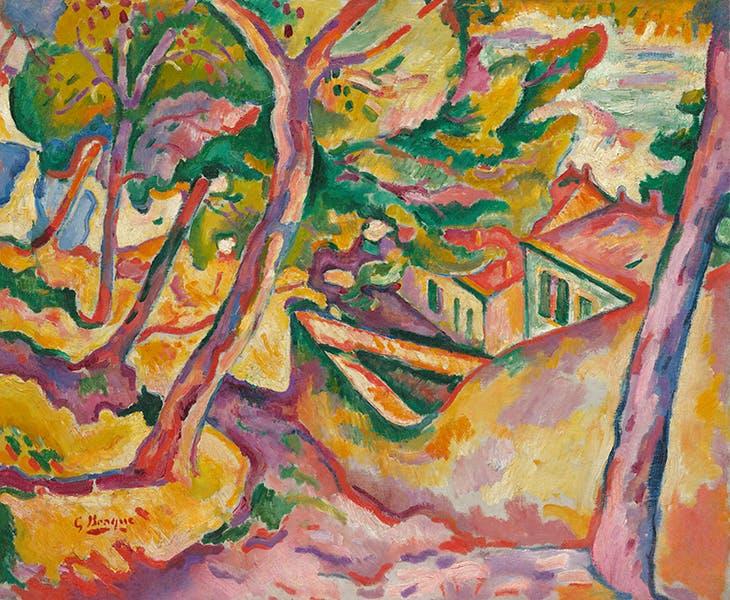 Landscape at L'Estaque (1907), Georges Braque.