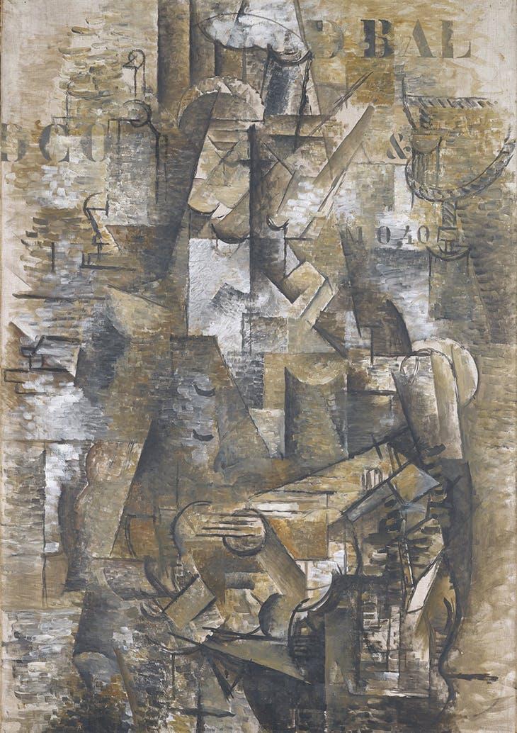 The Portuguese (The Emigrant) (1911–12), Georges Braque.
