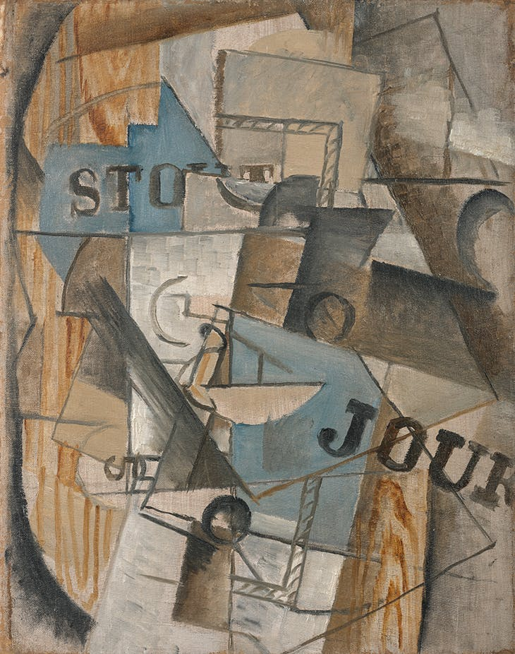 Bar Stout's Table (1912–13), Georges Braque.