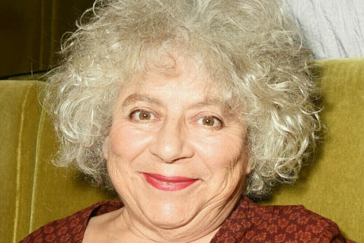 Model citizen: Miriam Margolyes at the UK premiere of 'The Carer' on 5 August, 2016.