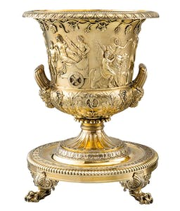 Wine cooler and stand (one of a pair) (1809), Paul Storr. Koopman Rare Art (in the region of £400,000 for the pair)