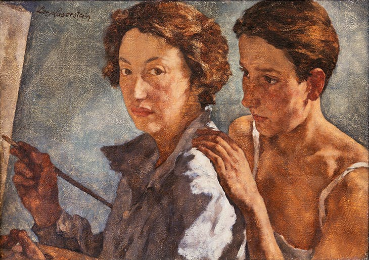 Me and My Model (1929–30), Lotte Laserstein.