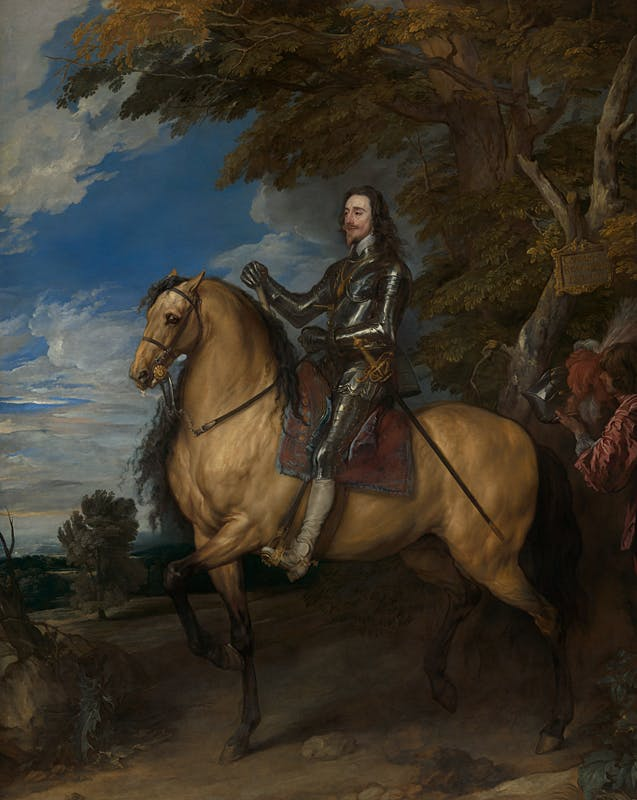Equestrian Portrait of Charles I (c. 1637–38), Anthony van Dyck. National Gallery, London.