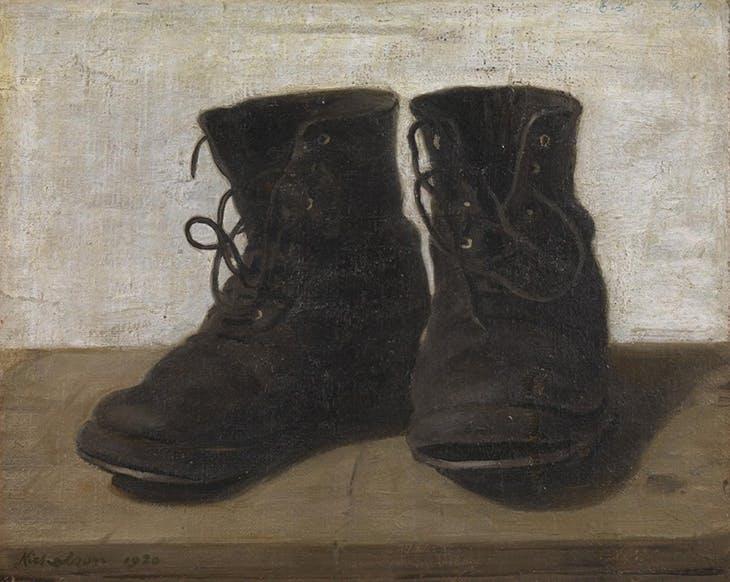 Miss Jekyll's Gardening Boots (1920), William Nicholson. Tate collection.