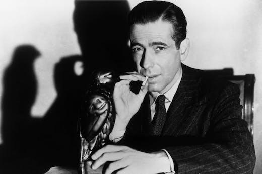Humphrey Bogart as Sam Spade, in a publicity still for 'The Maltese Falcon' (1941).