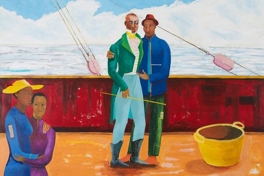The Captain and The Mate (2017–18), Lubaina Himid.