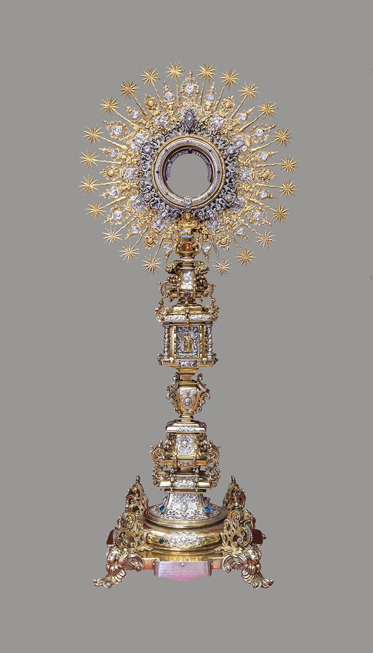 Monstrance (1700–27), workshop of Quito.