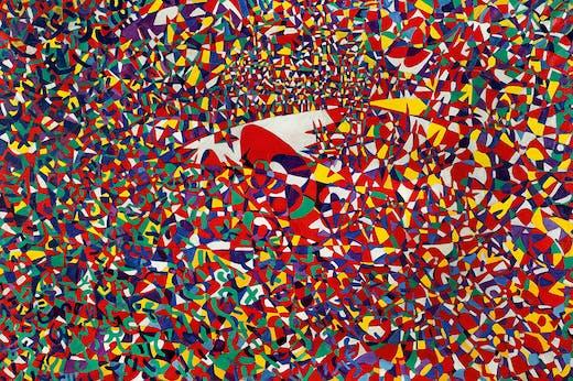 The Arena of the Sun (1954), Fahrelnissa Zeid.