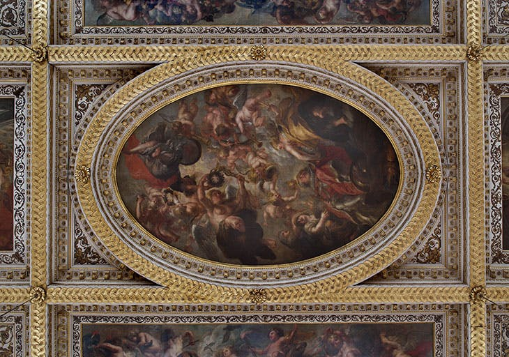 Rubens' ceiling at Banqueting House.