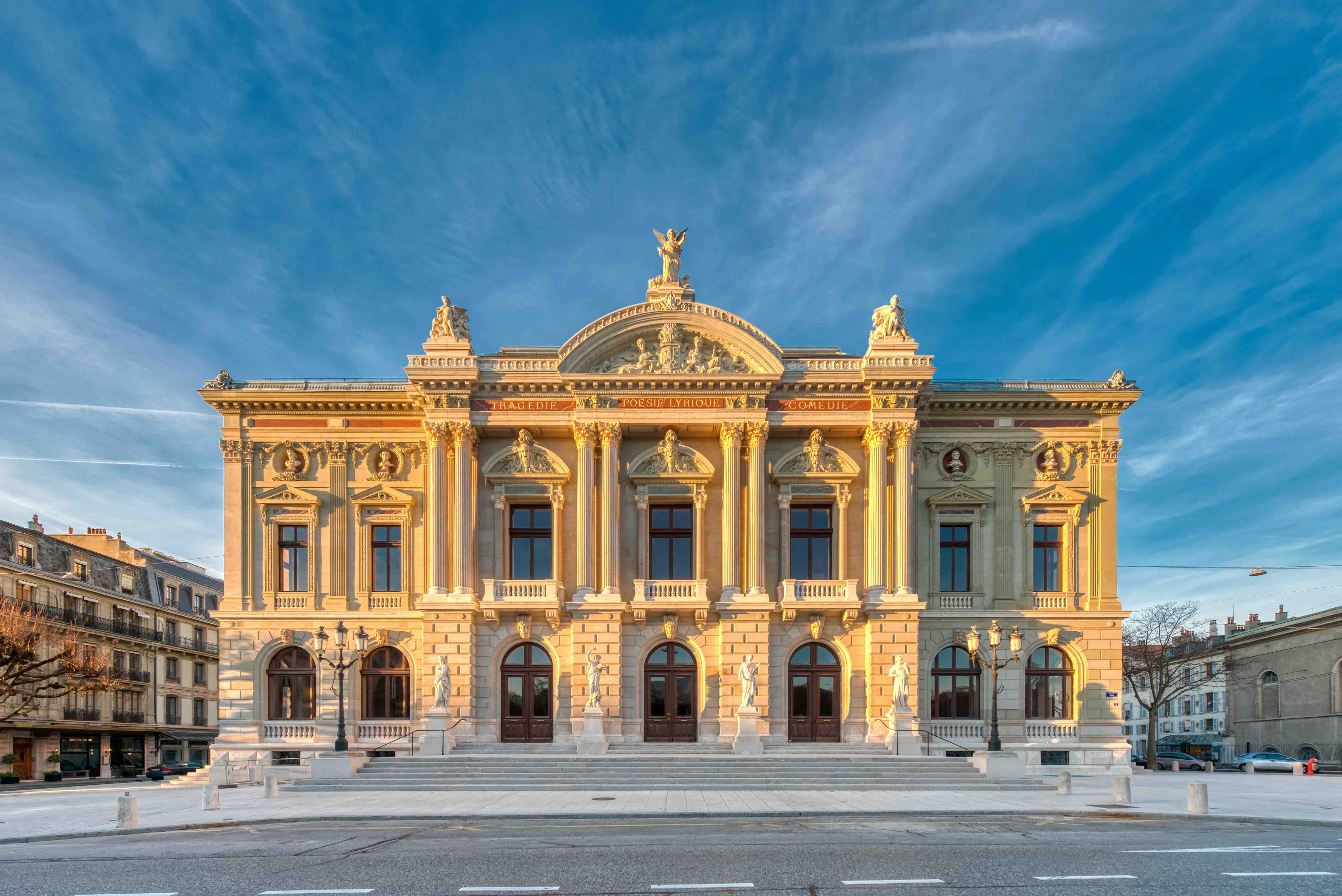 The Grand Théâtre de Genève