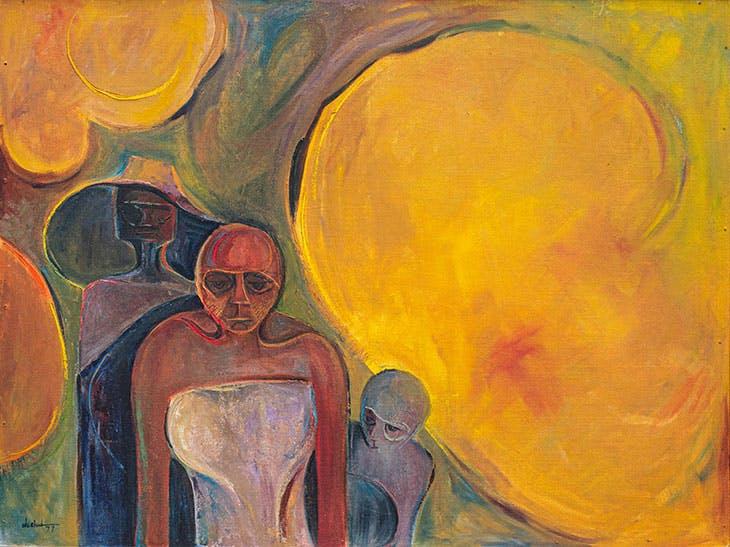 Refugees (1977), Obiora Udechukwu.