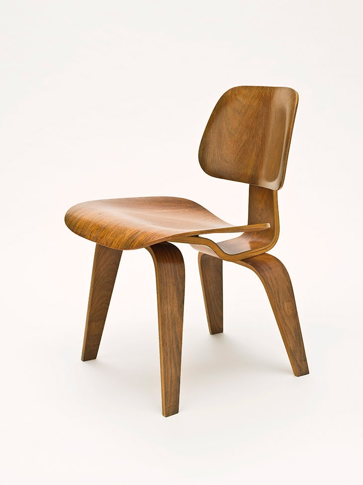 Chair DCW (Dining Chair Wood) (1946), Charles Eames and Ray Eames.
