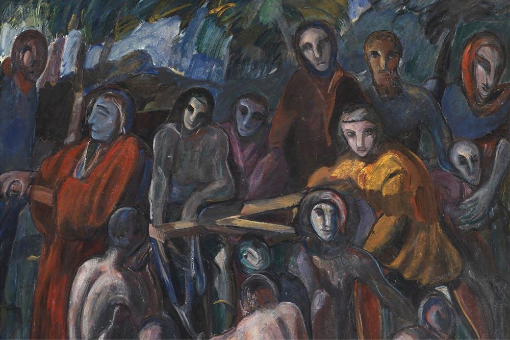 The Road to Calvary (detail; 1913–14), Jens Adolf Jerichau.
