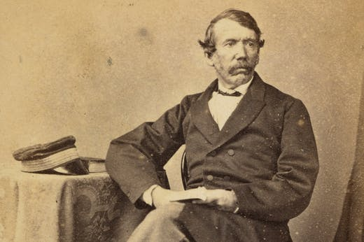 David Livingstone (1813–71), photographed in 1864 by Thomas Annan.