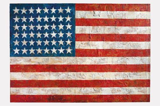 Flag (1954–55), Jasper Johns.