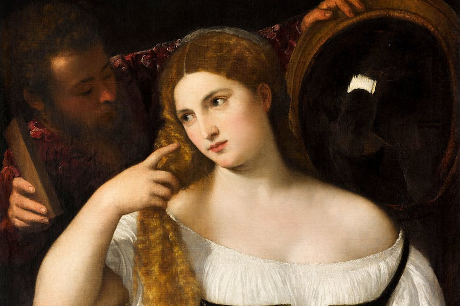 Young Woman at Her Toilet (c. 1515), Titian.